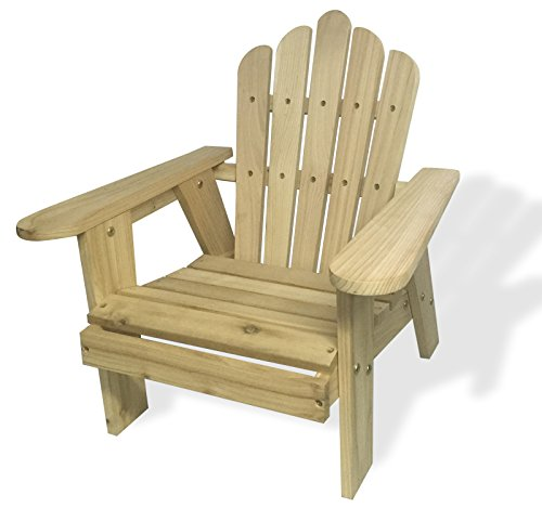 Xmas Sale - Lohasrus Kids Deluxe Red Cedar Chair MM20802, Unfinished Western Cedar and Fir, Conform to ASTM F963-07, Free Drawing Book Included. ()