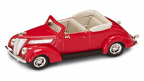 Yatming 1937 Ford V8 Convertible 1/43 Scale Diecast Model Car (43 Scale Replica Model)