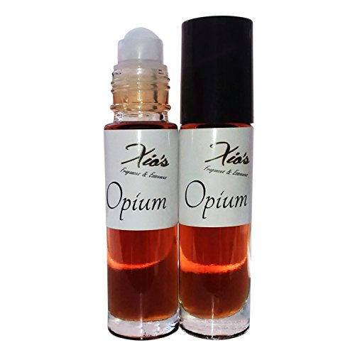 Opium Fragrance Perfume Oil 2 ( 1/3 oz Roll On Bottles - Oil Opium Scented