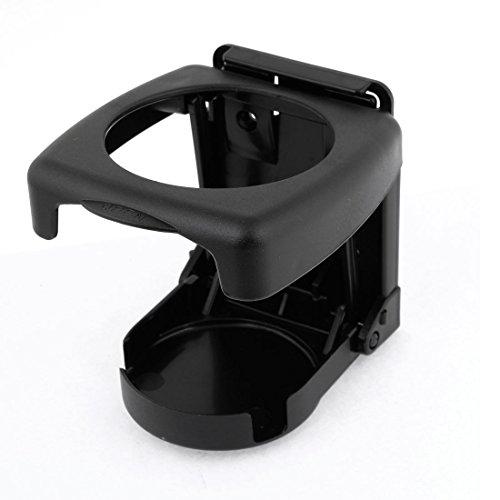 Folding Plastic Car Truck Drink Cup Can Bottle Holder Support Black