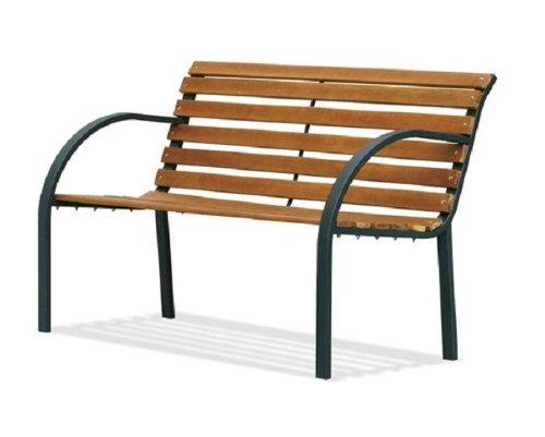Panca parco Materiale: acciaio e legno. Biacchi P1007201