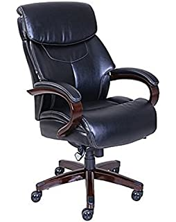La-Z-Boy Bradley Bonded Leather Executive Chair - Chestnut