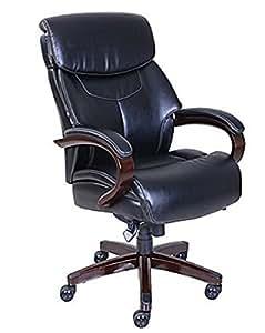 Amazon Com La Z Boy Bradley Faux Leather Executive Chair