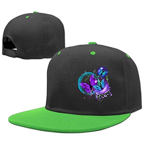 Gorras Butterfly RGFJJE Caps béisbol Purple Hat Baseball Hop Girl Hip Boy xSS7aw