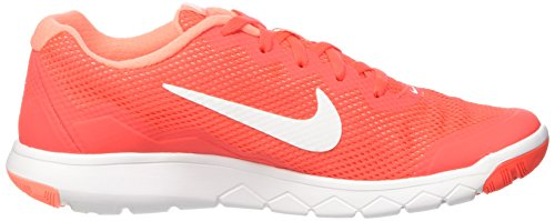 Nike Mens Flex Experience Rn (fel Karmijnrood / Wit-atomisch Roze-wit) Hardloopschoen, 9 B (m) Ons