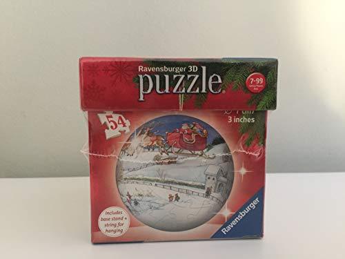 3D PUZZLEBALL Christmas Ornament, Christmas Eve (Puzzleball Christmas Ornaments)