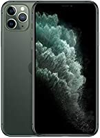 Apple iPhone 11 Pro Max (256GB, Midnight Green) [Carrier Locked] + Carrier Subscription [Cricket Wireless] ($10/Month...