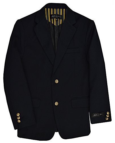 - Dress Up Boys' Navy Blazer Jacket #JL30 (10, Navy Blue)