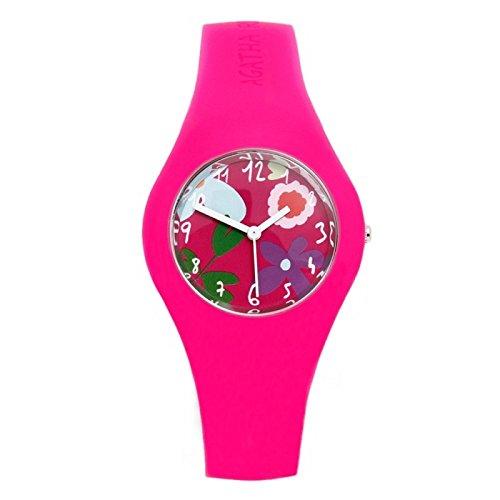 Agataha Ruiz de la Prada-Reloj niña-mujer mod. Magenta: Amazon.es: Relojes