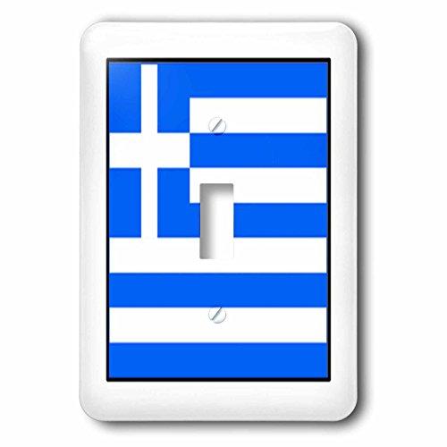 3dRose LLC lsp_80967_1 - Interruptor de botón para foto de la bandera de Grecia