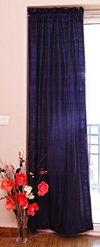 (Zappy Cart Pure Silk Curtains, 40