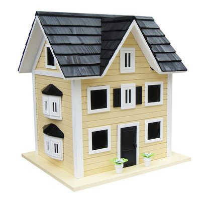 Home Bazaar Main Street ''Colonial'' Cottage Birdhouse for Purple Martins