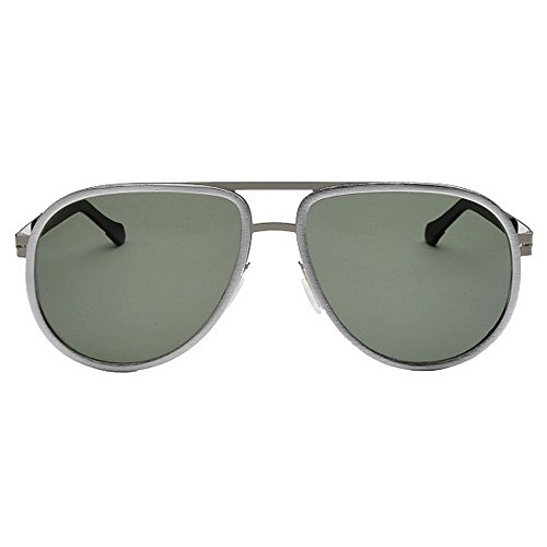 Femmes des Couleur Hommes Protection de Gray des UV d'aviateur de Silver 400 Couleurs Yxsd Lunettes Soleil Polarisées XWnwYHwRq