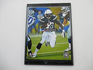 "Melvin Gordon San Diego Chargers Action Photo Mounted On A ""9 X 12"" Black Mounted Plaque"