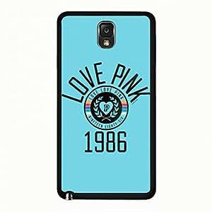 VICTORIA'S SECRET Phone Case Cover For Samsung Galaxy Note 3 Sexy VICTORIA'S SECRET Pink Black Back Phone Case