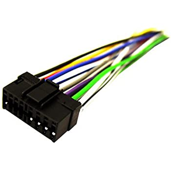 amazon com sony so 16 16 pin wire harness automotive rh amazon com 16 pin wiring harness wire diagram kd-hdr30 16 pin wiring harness