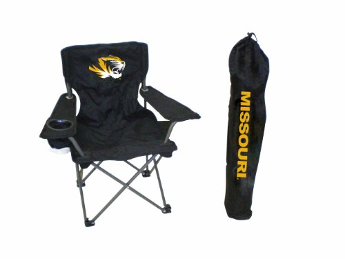 Rivalry NCAA Missouri Tigers Youth Folding Chair With Carrying Case