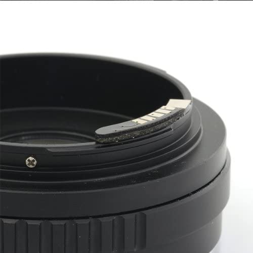 Pixco 2nd Generation AF Confirm Adapter Sony Alpha Minolta MA Lens to Canon EOS Camera