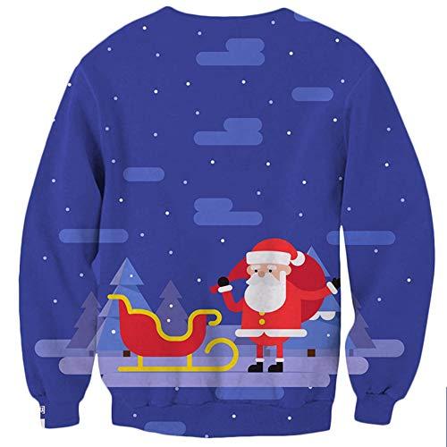 Top Marca Abbigliamento Donna Pullover Di Loose Natale Stile Tide Moda Jing  Stampati Girocollo Abiti B aRqOxO d064a58c3fb