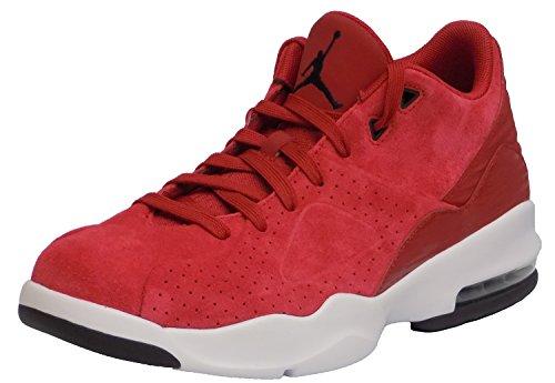 Herren Nike Jordan Air Franchise Basketballschuh Gym Rot / Schwarz / Weiß