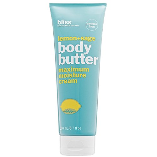 Body Butter Lotion - bliss Body Butter | Paraben Free Maximum Moisture Cream | 6.7 fl. oz. Body Lotion For Dry Skin | Instant Long-Lasting Moisturizer for Women & Men | Available in 5 Different Scents