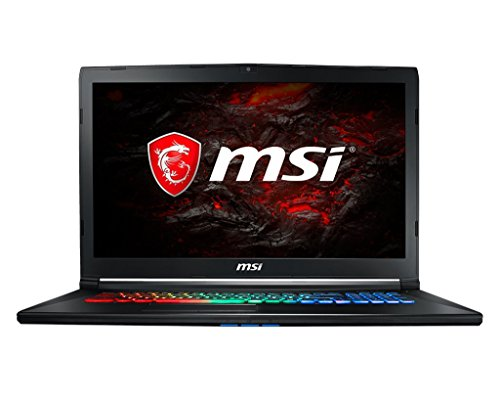 MSI Leopard Pro GP72MX1213 17.3'' High Performance Gaming and Business Laptop PC (Intel i7 Quad Core, 16GB RAM, 1TB HDD + 256GB SSD, 17.3'' FHD 1920x1080 Display, NVIDIA GeForce GTX 1050Ti, Win 10 Home) by MichaelElectronics2