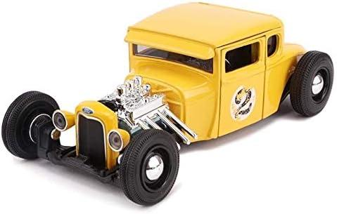 カーモデル、モデルカーフォードモデルA 1929レトロクラシックカー午前1時24分アナログダイカスト合金のオリジナルのシミュレー