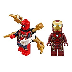 LEGO Accessories: Superheroes Iron Man and Spider Man