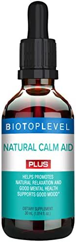 Best Natural Calm Aid Plus Liquid Drops. Natural Relaxation and Good Mental Health. Supports Good Mood. Natural Balance of Neurotransmitters. Fastest Absorption of Natural Ingredients