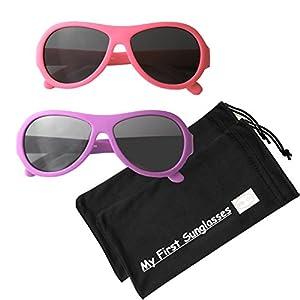 MFS- Baby Aviators 110mm - Hot Pink and Fuchsia 2 Pack