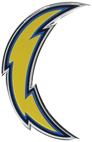 NFL San Diego Chargers Die Cut Color Automobile - San Mall Outlet Diego