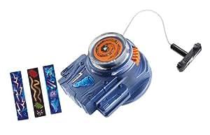Hasbro Beyblade Metal Master Super lanzador Rev Up Launcher - Lanzador para peonzas Beyblade con adhesivos decorativos, color azul