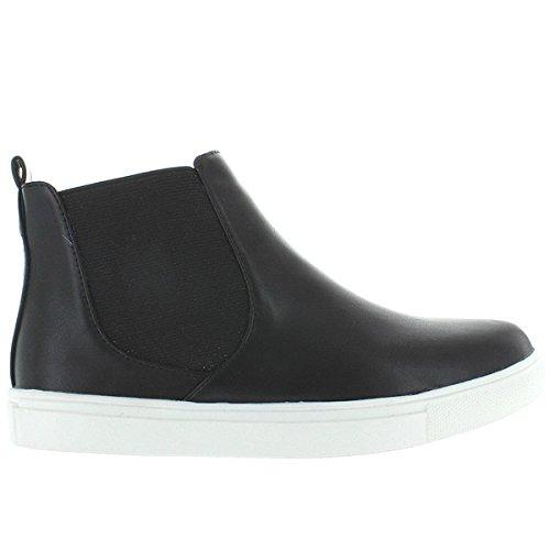 Wanted Womens Doppio Black Sneaker – 10