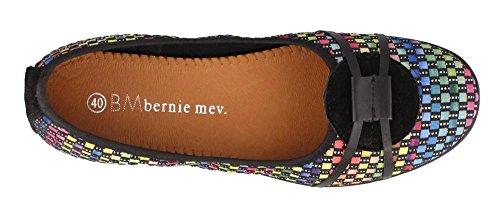 Womens Bernie Mev, Nicole Slip on casual Flats Black Multi