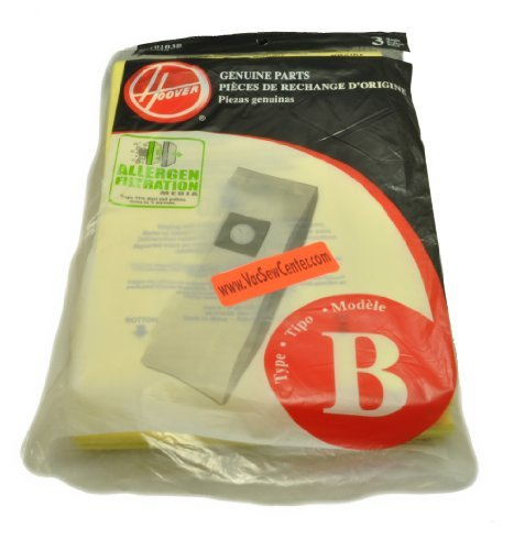Hoover Upright Vacuum Cleaner Type B Bags (Hoover B Bags)