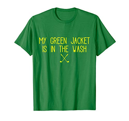 Green Jacket in the Wash Master Golf T-Shirt