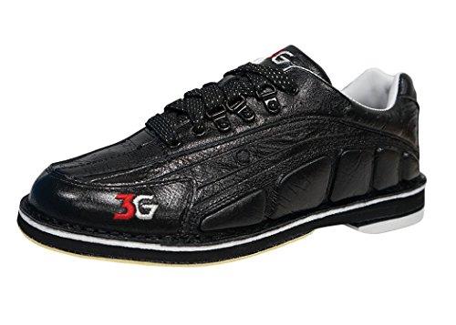 900 Global Men's Tour Ultra Bowling Shoes, Black, 11