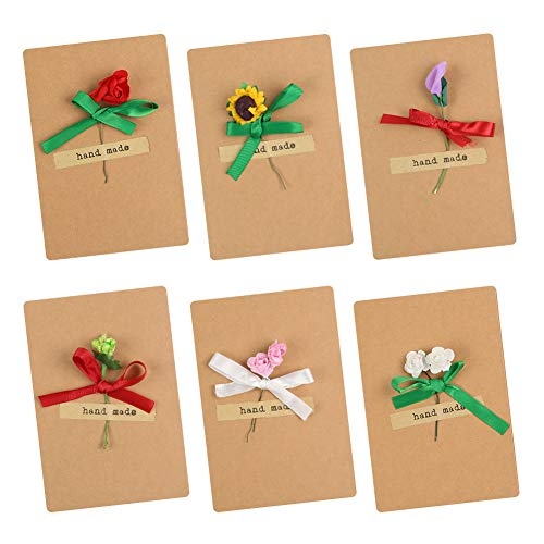 20 DIY FLOWER CARDS WITH STICKERS
