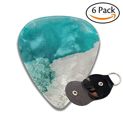 Steam Rises From A Beautiful Deep Blue Hot Spring Pool At West Thumb Geyser Basin In Yellowstone Colorful Celluloid Guitar Picks Plectrums For Guitar Bass .6 Pack 46mm ()