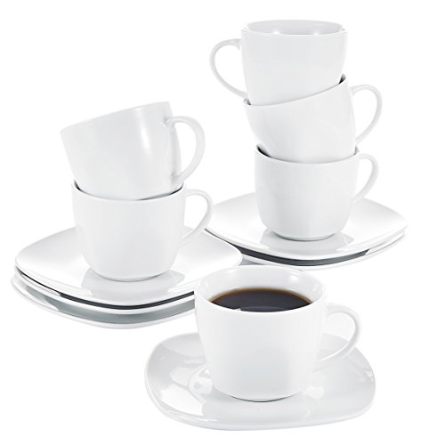 Porcelain 12 Piece Tea Set - 7