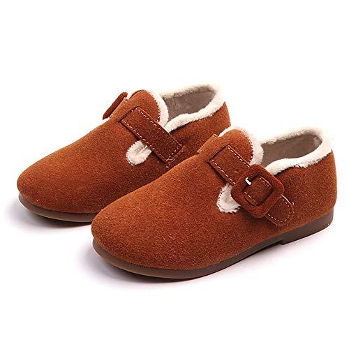Zapatos Bebé Marrón De Sala Niña Alto Zapatillas Invierno Ashop Botines Futbol Bebe Tacon r1rgT