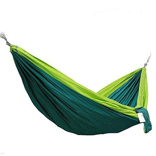 raku-2-person-portable-outdoor-traveling-camping-parachute-nylon-fabric-hammock-green