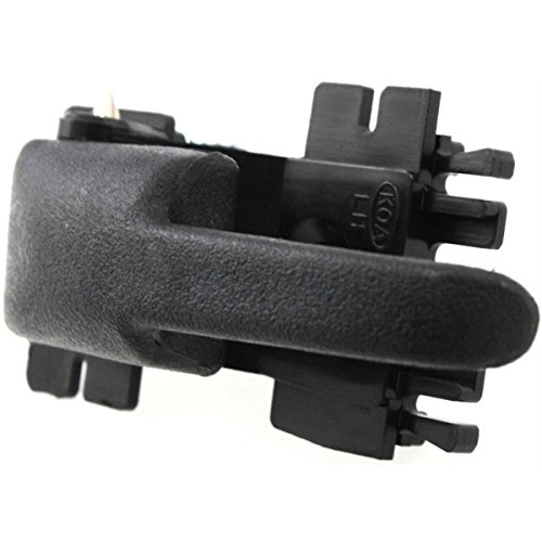 - Diften 120-A2687-X01 - New Door Handle Front or Rear Driver Left Side Inner Interior Inside Black LH