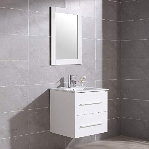 24 Inch Vanity Set - Walnest 24