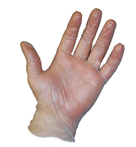 Large Box E-commerce (West Chester 2745 Food Grade Disposable Vinyl Gloves, 3 mil, Powder Free: Clear, Large, Box of 100)