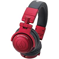 ATHCPRO500MK2R - AUDIO TECHNICA ATH-PRO500MK2RD Rugged Design DJ Headphone (Red)