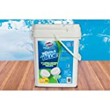 Clorox Xtra Blue 40 Pound 80 Tab Pool and Spa 3 Inch Long Lasting Chlorinating Tablets