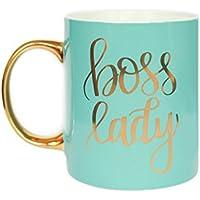Mint Boss Lady Mug Gold Coffee Mug Gift For Her Gift For Boss Coffee Mug Tea Cup Girl Boss Babe Motivational Coffee Mug Chic Office Decor