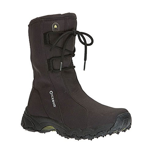 Icebug Women's Cortina BUGrip Snow Boot,Black,6 M