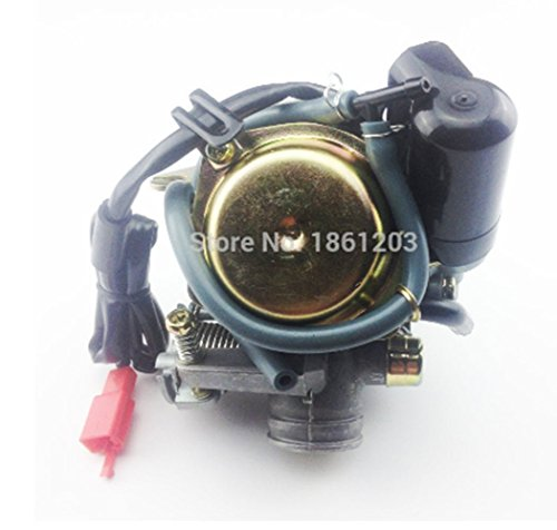 Power Pro Hollow Core (24mm Big Bore Carb CVK Keihin Carburetor for Chinese GY6 125cc 150cc motorcycle parts scooter Moped ATV)